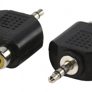 AC010 Stereo audio adapter